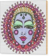 Bejeweled Blond Wood Print