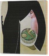Bel Paese - Melzo, Italy - Vintage Cheese Advertising Poster Wood Print