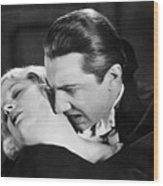 Bela Lugosi  Dracula 1931  Feast On Mina Helen Chandler Wood Print