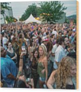 Bele Chere Festival Crowd Wood Print