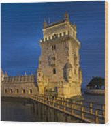 Belem Tower, Lisbon, Portugal Wood Print