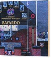 Belfast Mural - Bayardo - Ireland Wood Print