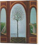 Belgian Triptyck Wood Print