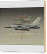 Belgian Viper Xxl Wood Print