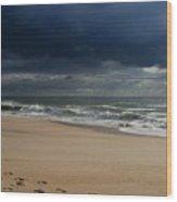Believe - Jersey Shore Wood Print