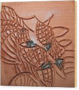 Belinda And Carl - Tile Wood Print