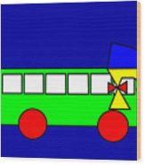 Belinda The Bus Wood Print