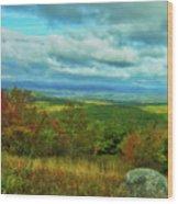 Belknap View Wood Print