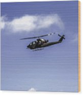 Bell Cobra Helicopter Wood Print