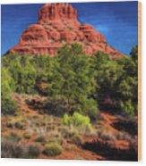 Bell Rock Dream Wood Print
