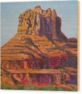 Bell Rock In Sedona Arizona - High Res. Wood Print