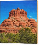 Bell Rock Tower Wood Print