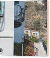 Santa Catalina Island Bell Tower Wood Print