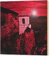 Bell Tower Wood Print