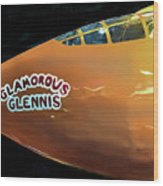 Bell X-1  Glamorous Glennis Wood Print