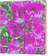 Bella Flora 2 Wood Print