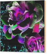 Bella Flora 8 Wood Print