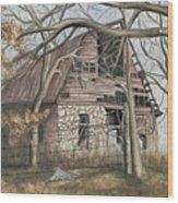 Bella Vista Barn Wood Print