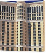 Bellagio Las Vegas Wood Print