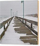 Belle Isle Bridge Wood Print