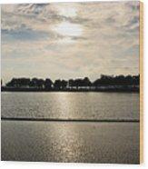 Belle Isle Lake Wood Print