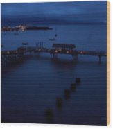 Bellingham Bay Wood Print
