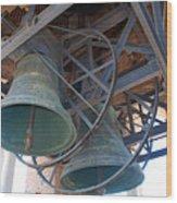 Bells Of Torre Dei Lamberti - Verona Italy Wood Print