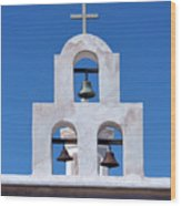 Bells - San Xavier Del Bac - Arizona Wood Print