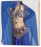 Belly Dance Modeling. Sofia Of Ameynra Wood Print