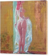 Belly Dancer 3 Wood Print