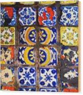 Belmar Tiles By Darian Day Wood Print