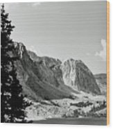 Below Medicine Bow Wood Print