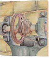 Belt Driven Wood Print