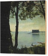 Bembridge Lifeboat Station  Wood Print