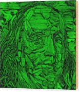 Ben In Wood Green Wood Print