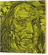 Ben In Wood Yellow Wood Print