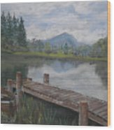 Ben Lomond Wood Print