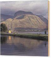 Ben Nevis Scotland Wood Print