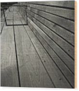 Bench's Perspective Wood Print