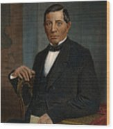 Benito Juarez (1806-1872) Wood Print by Granger