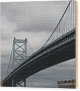 Benjamin Franklin Bridge Philadelphia Wood Print