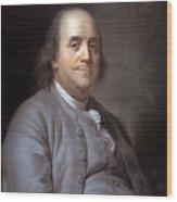 Benjamin Franklin Wood Print
