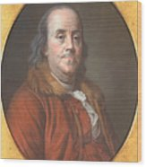 Benjamin Franklin Wood Print