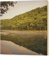 Bennett Springs Reflections Wood Print