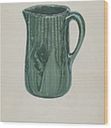 Bennington Pitcher Wood Print