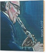 Benny Goodman Wood Print