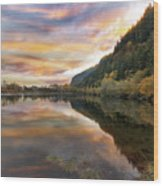 Benson State Recreation Area In Fall Wood Print