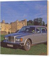 Bentley Automobile Wood Print