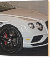 Bentley Continental Gt V8s Wood Print