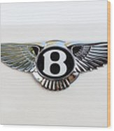 Bentley Emblem -0081c Wood Print